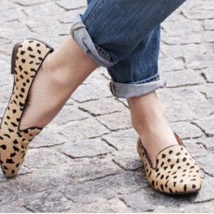 Madewell Leopard Teddy Loafer